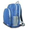 Chesapeake Backpack, blue w/grey trim