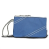 Chesapeake Wristlet, blue w/grey trim