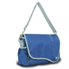 Chesapeake Messenger, blue w/grey trim