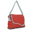 Chesapeake Messenger, red w/grey trim