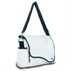 Chesapeake Messenger, white w/blue trim