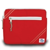 Chesapeake iPad Sleeve, red w/grey trim