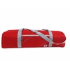 ChesapeakeYoga Bag, red w/grey trim