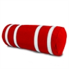 Nautical Stripe Pillow Cover, red w/white stripes