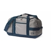 SailorBags Silver Spinnaker Cruiser Duffel, silver w/blue trim