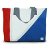 SailorBags Tri-Sail Medium Tote, red, white, blue