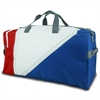 Tri-Sail Duffel, red, white, blue