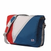 SailorBags Tri-Sail Messenger, red, white, blue