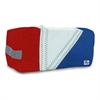 SailorBags Tri-Sail Toiletry Kit, red, white, blue