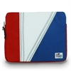 Tri-Sail ipad Sleeve, red, white, blue
