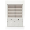 BCA599 Hutch Bookcase Unit