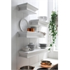 NovaSolo D163 Floating Wall Shelf, Short
