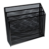 Mesh Three-Tier Organizer, Black