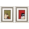 Propac Images 1016 Bird Portrait, Pack of 2