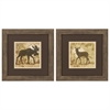 Propac Images 1408 Moose Deer, Pack of 2