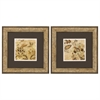 Propac Images 1440 Floral Beige, Pack of 2