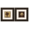 Propac Images 1574 Gilded Tree, Pack of 2