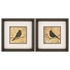 Propac Images 1648 Bird Silhouette, Pack of 2