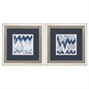 Propac Images 1674 Chevron Pattern, Pack of 2