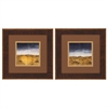 1686 Blue Modern Landscap, Pack of 2