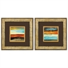 Propac Images 1697 Rustic Sea, Pack of 2