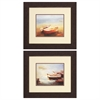 Propac Images 1856 Low Tide Misty Morn, Pack of 2