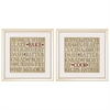 Propac Images 2161 Chefs Words, Pack of 2