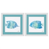 2164 Watercolor Fish, Pack of 2