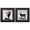 Propac Images 2176 Elk Deer, Pack of 2