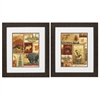 2421 Lodge Collage, Pack of 2