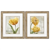Propac Images 2423 Golden Flower, Pack of 2