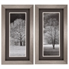 2818 Black & White Trees, Pack of 2
