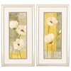 Propac Images 2821 White Poppies, Pack of 2