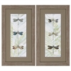 2825 Dragonfly Botanical, Pack of 2