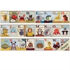 Propac Images 3682 Alphabet Zoo, Pack of 6