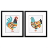 Propac Images 3695 Country Chickens, Pack of 2