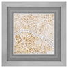 Propac Images 3721 GILDED PARIS MAP