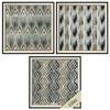 3738 Grey Tribal, Pack of 3