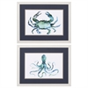 Propac Images 3762 Crab Octopus, Pack of 2