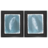 3820 Feathers Dusty Teal, Pack of 2