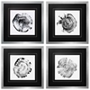 3870 Tree Ring Abstract, Pack of 4