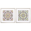 Propac Images 3871 Driftwood Mandala, Pack of 2