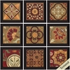 3957 Patchwork, Pack of 9