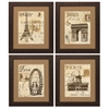 Propac Images 4086 Paris, Pack of 4