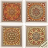 Propac Images 4480 Bukhara, Pack of 4
