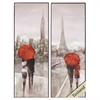 Propac Images 4793 New York Paris, Pack of 2