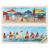 Propac Images 4825 Beach Sailing, Pack of 2