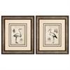 4864 Egret Stork, Pack of 2