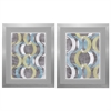 4897 Geometric Repeat, Pack of 2
