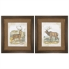 4961 Woodland Stag, Pack of 2